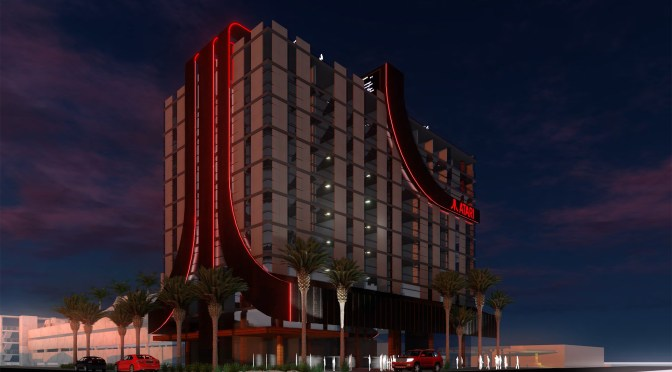 ATARI ANNOUNCES WORLD-CLASS VIDEO GAME-THEMED ATARI HOTELS