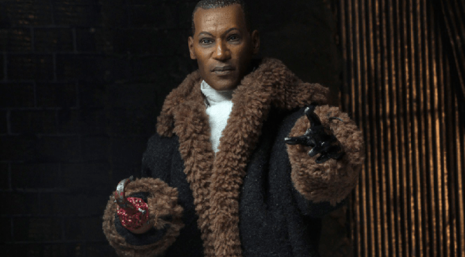 Now available on the NECA eBay & Amazon store is the 8″ Cloth Action Figure of Candyman