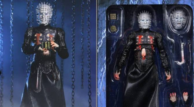 Now available in limited quantities on eBay & Amazon Hellraiser 7″ Action Figure Ultimate Pinhead