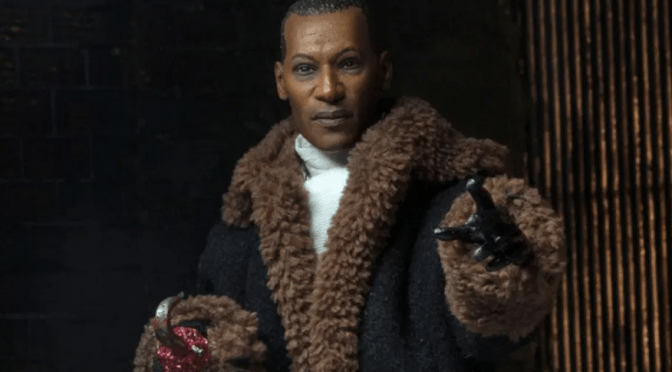 The NECA 8″ Cloth Candyman will be one of the first figures to release in 2020