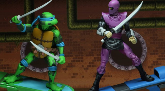 ( GALLERY ) NECA Leo, Donny, Foot, and Slash TMNT – Turtles in time shipping to retailers in February