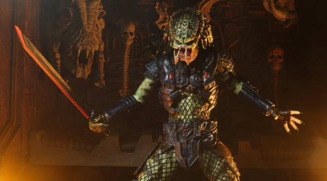"NECA: Predator 2 – 7"" Scale Action Figure – Ultimate Armored Lost Predator"