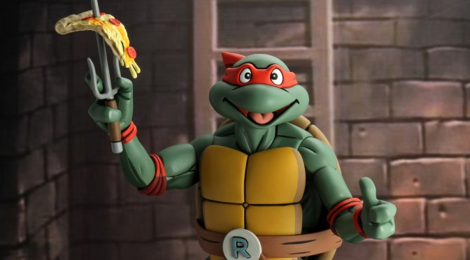 NECA Teenage Mutant Ninja Turtles (Cartoon) ¼ Scale Action Figure Super Size Raphael
