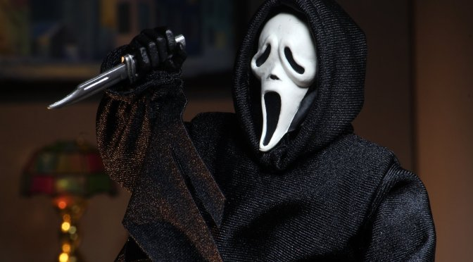 "NECA: Ghostface – 8"" Clothed Action Figure – Ghostface"
