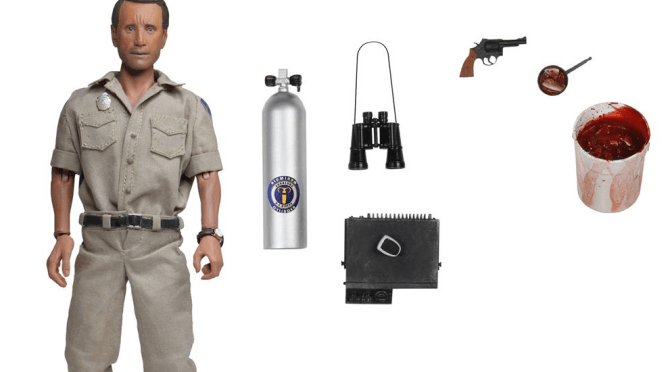 "NECA: Jaws – 8"" Clothed Action Figure – Chief Martin Brody"