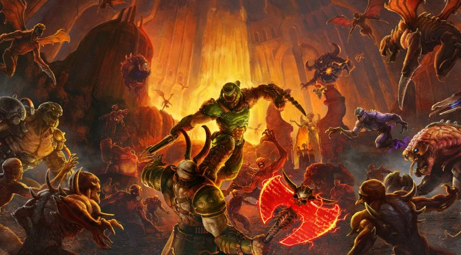 DOOM Eternal ya se encuentra disponible