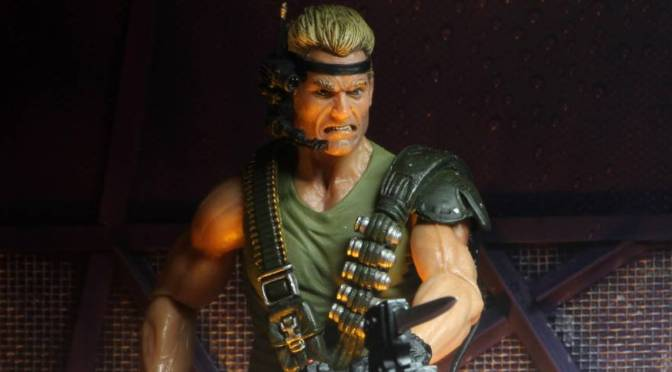 NECA: Now available in eBay & Amazon store is the Aliens – 7″ Action Figure – Space Marine Drake