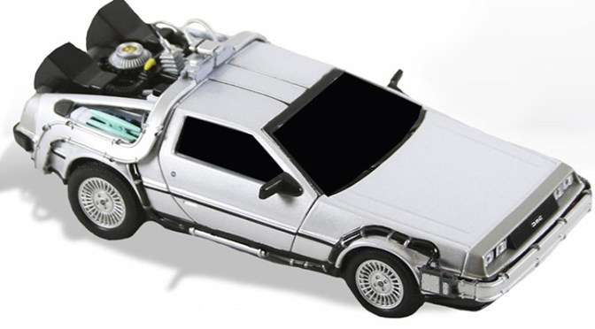 Back to the Future – 6″ Diecast – Time Machine