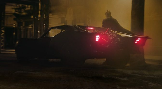(C506) The Batman: El arte conceptual de Batmobile revelado
