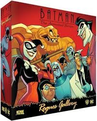 "Tabletop Preview, IDW's Batman: The Animated Series ""Rogues Gallery"""