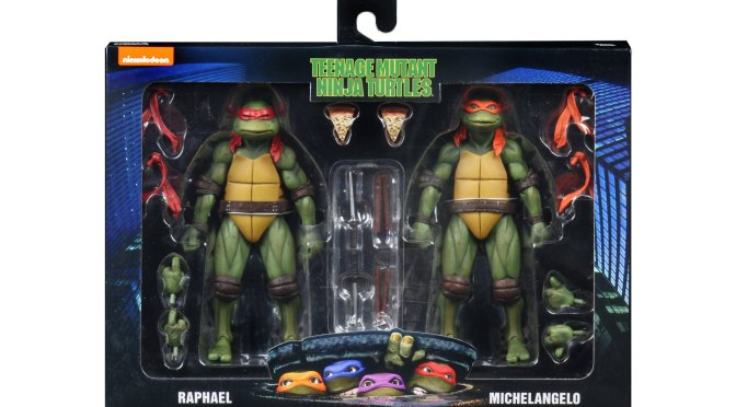 1990 Movie TMNT action figures,will be making their way to Walmarts across the US