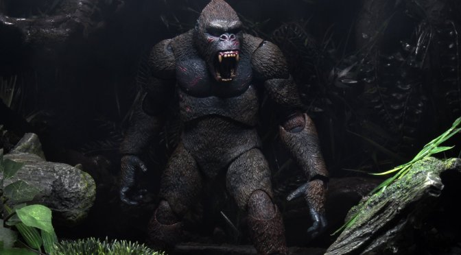 At long last King Kong will be joining NECA's action figure line!