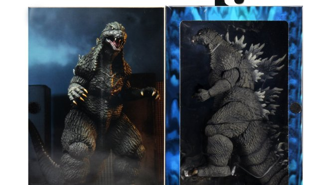 The 12″ Head-to-tail 2003 #Godzilla action figure is ready with the final packaging photos!