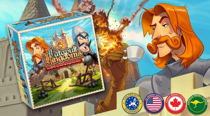 Build your castle, prepare your troops and load your catapults, Catapult Kingdoms is already here!