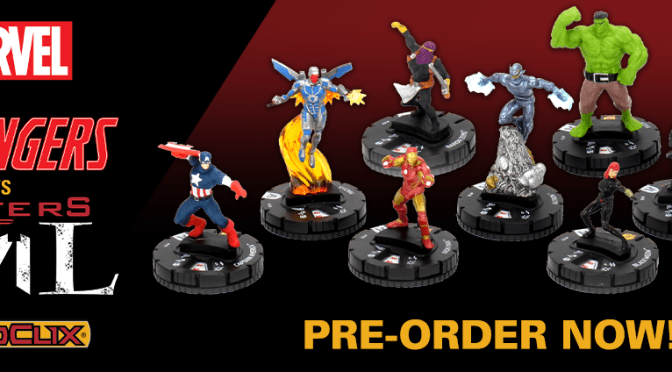 PRE-ORDER: MARVEL HEROCLIX BATTLEGROUNDS: AVENGERS VS MASTERS OF EVIL