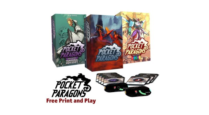 Solis Game Studio announces Pocket Paragons, its first in-house game, come discover it!