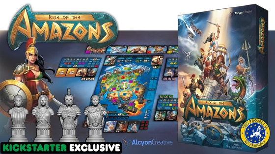 Dominate the ancient world with Rise of the Amazons