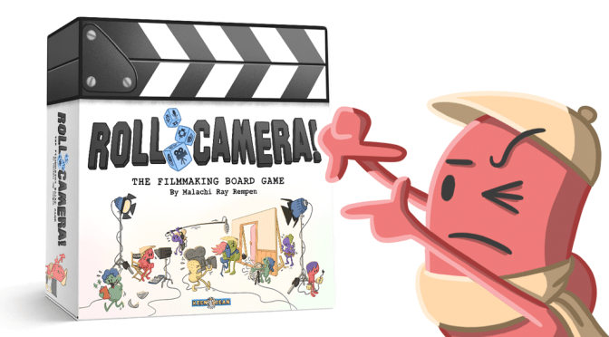 Discover Roll Camera! The board game that lets you write, storyboard, shoot, edit and premiere a movie with your friends