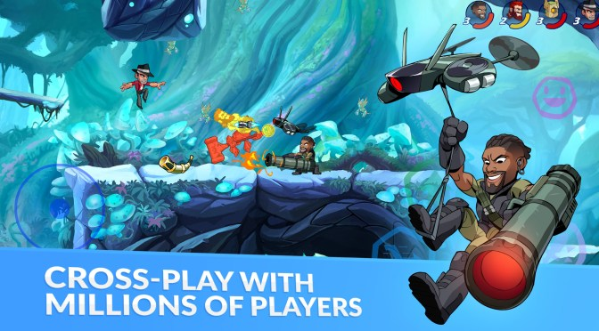EL FREE-TO-PLAY BRAWLHALLA YA ESTÁ DISPONIBLE EN DISPOSITIVOS MÓVILES