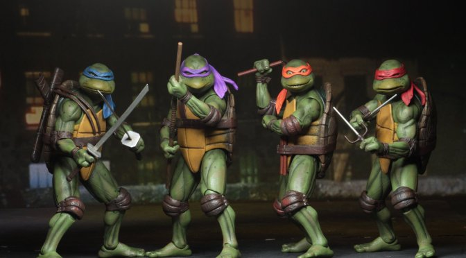 NECA is working on a new TMNT 1990 figure