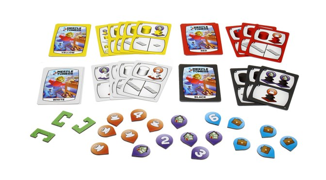 Build the High-Rises of Tomorrow in Meeple Towers—Available Now!