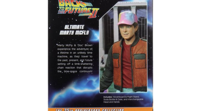 NECA's #BackToTheFuture line is in full swing! Ultimate Marty