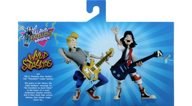 Packaging Reveal  Toony Classics Bill & Ted!
