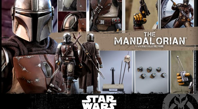 Unbox de The Mandalorian Hot Toys Mando 1/6 Sideshow y Review