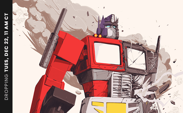 THE TRANSFORMERS: THE MOVIE Posters by OLIVER BARRETT