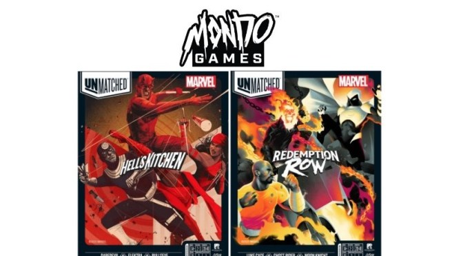Mondo Games' announces 4 Marvel-themed UNMATCHED Game Titles Coming In 2021