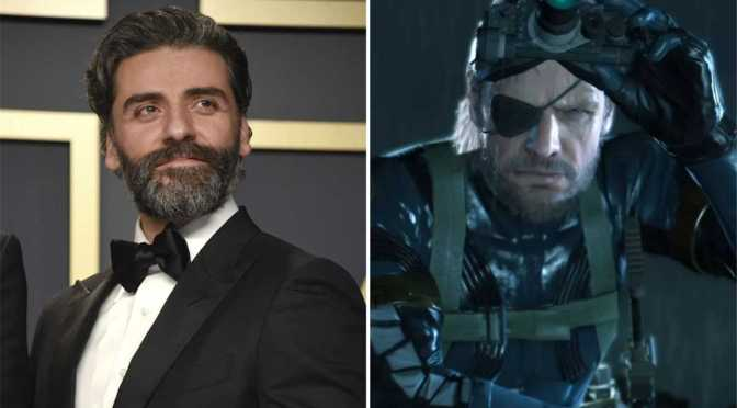 Oscar Isaac interpretará a Solid Snake en el live-action de Metal Gear Solid