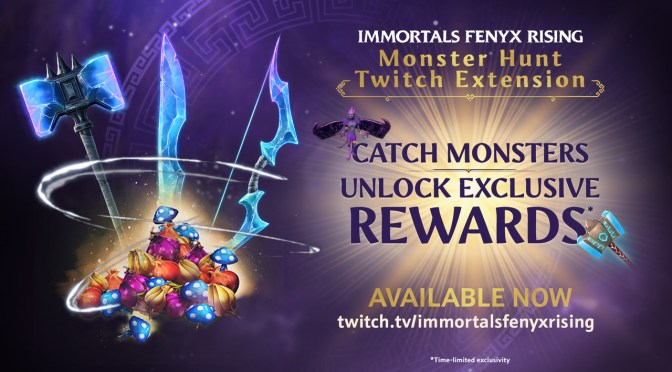 "Immortals Fenyx Rising Estrena su Extensión de Twitch: ""Monster Hunter"""