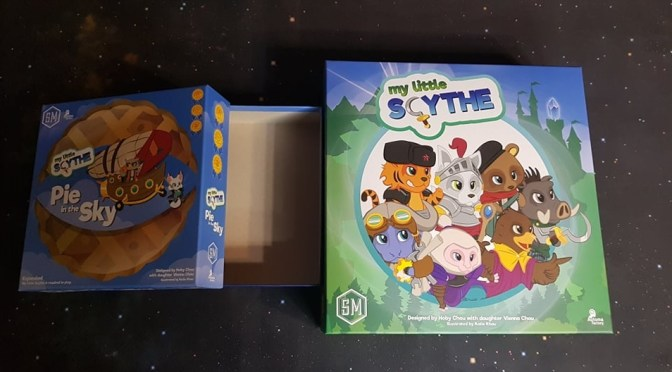 Boardgames / Juegos de Mesa – My little Schyte y Pie in the Sky (expansión) Review C506