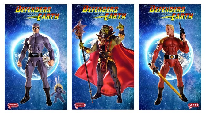 DEFENDERS OF THE EARTH! Series: 1 Assortment