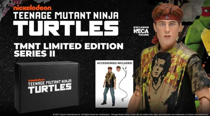 NECA is teaming up with Loot Crate for their second wave of Turtles themed crates!
