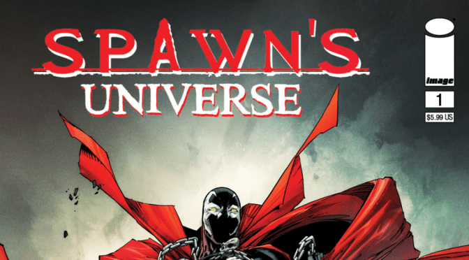 TODD McFARLANE'S  SPAWN'S UNIVERSE #1 REVEALS NEW ART