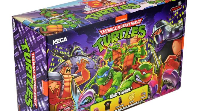 NECA is serving up a heaping helping of total awesomeness in honor of the TMNT pinball game