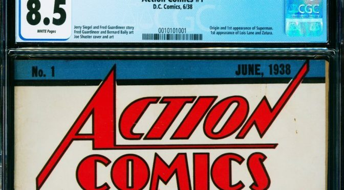 Se rompe record del comic mas caro, un Action Comics #1