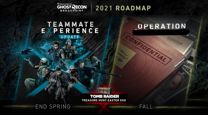 UBISOFT – TOM CLANCY\'S GHOST RECON BREAKPOINT ANUNCIA SU ROADMAP PARA 2021