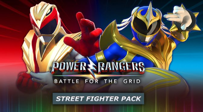 Street Fighter's Ryu and Chun-Li Heading to Power Rangers: Battle for the Grid!