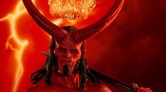 Unbox Review Hellboy 2019 – Hot Toys Sideshow / David Harbour