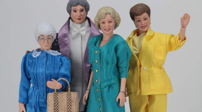 The Golden Girls are returning to action figure form!