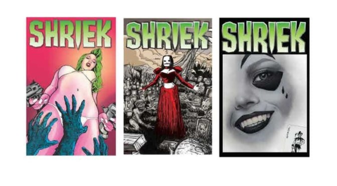 Shriek: All new twisted tales of horror and dark fantasy from eight creators of the macabre!