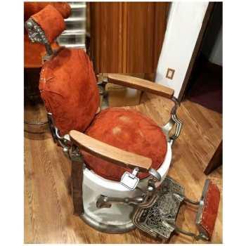 Koken Barber Chair side view 1