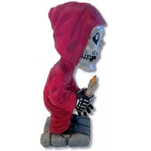 Misfits Crimson Ghost Bobblehead side view