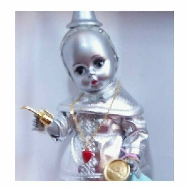 Wizard of Oz Tin Man Doll close up