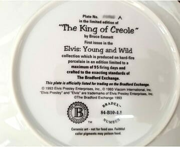 elvis-presley-creole-king-collector-plate-back-view