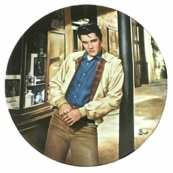 Elvis Presley King Creole Plate