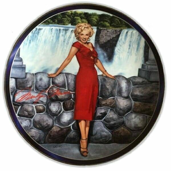 Marilyn Get Out The Fire Hose Plate