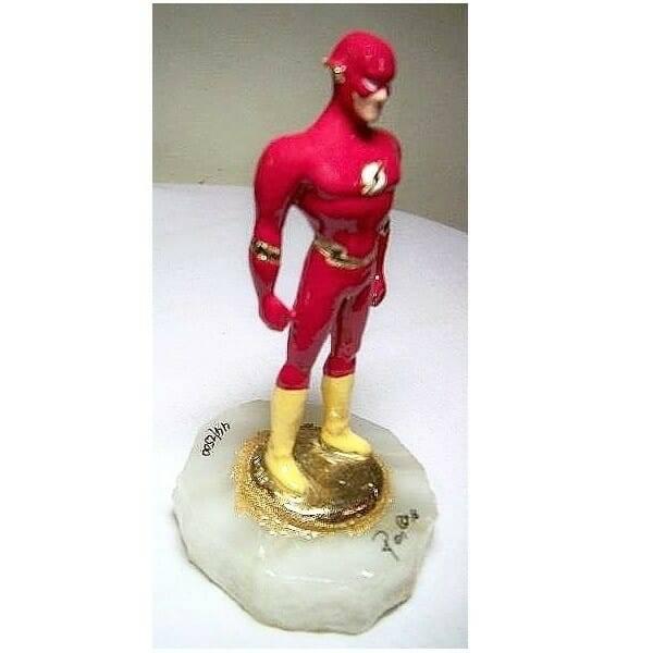The Flash Figurine side view